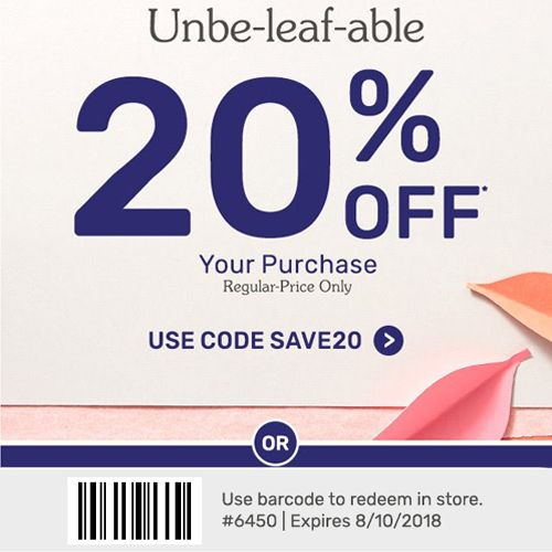 Pier 1 Coupon 20 Off Regular Priced In Store Purchase