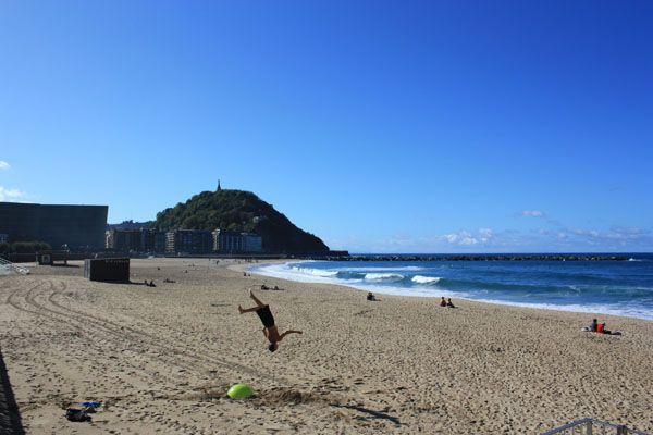 Travel Europe Cheap - Beach in San Sebastian