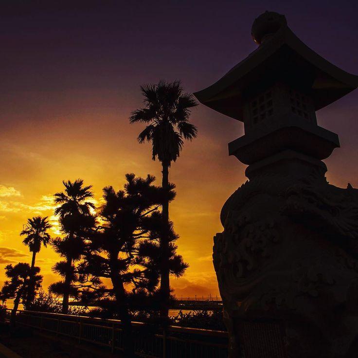 Japan sunset. Isn't it beautiful?