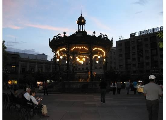 Ive been here! sat on the same bench 7.5 yrs ago on new years eve and took a pic......Guadalajara Mexico