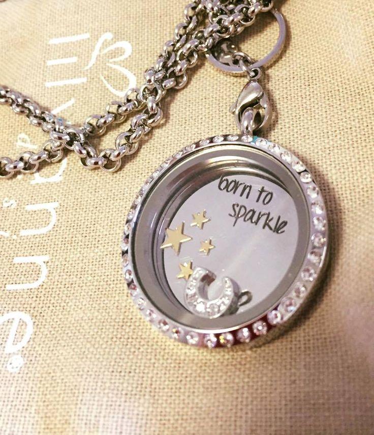 Born To Sparkle Lily Anne Designs Lockets http://www.facebook.com/caronandlilyannedesigns
