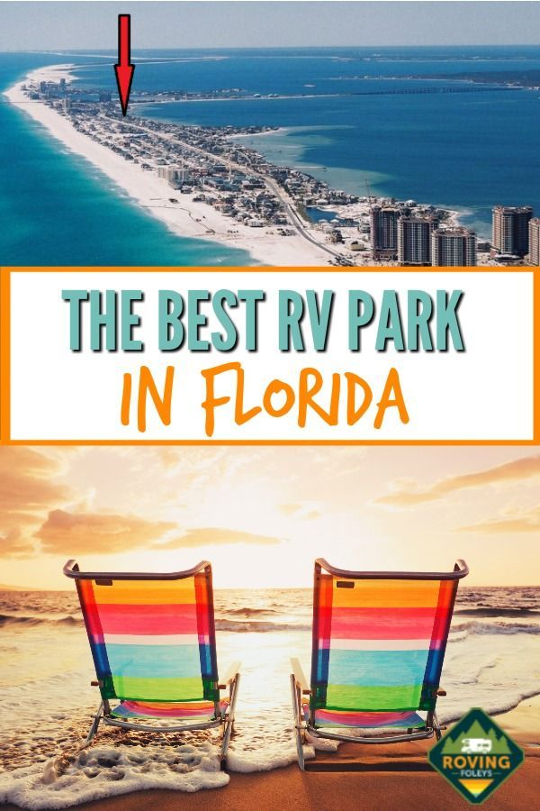 Why We Love Pensacola Beach Rv Resort In Florida The Roving Foley S Best Rv Parks Rv Parks In Florida Florida Campgrounds