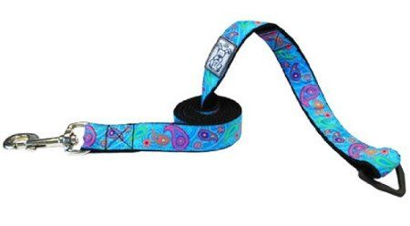 Amazon.com: RC Pet Products Dog Leash, 3/4-Inch by 6-Feet, Tropical Paisley: Pet Supplies $13.86