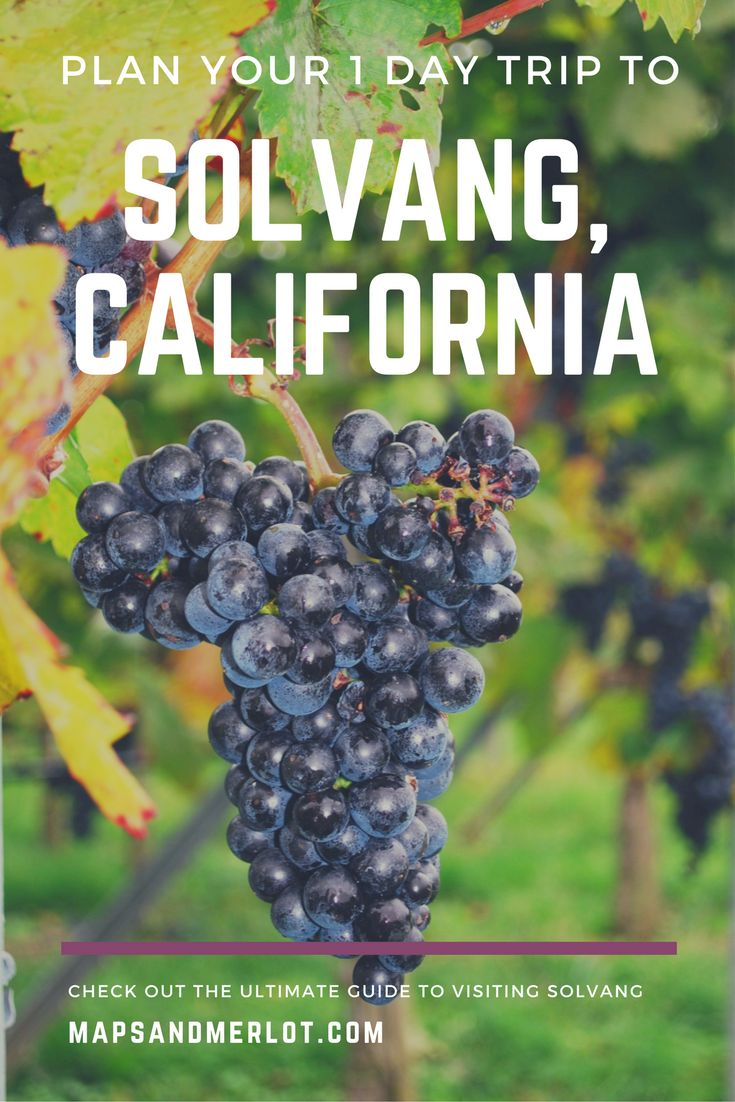 California Map Hwy 99%0A Windmills  u     Wine  Top Attractions in Solvang  California