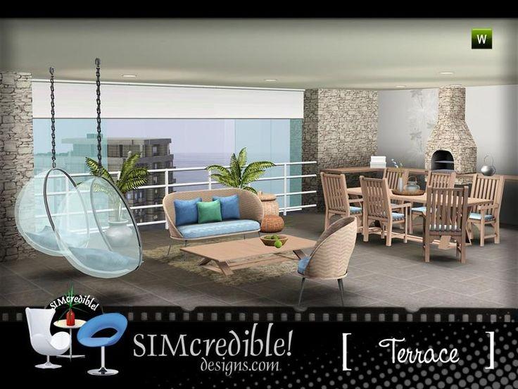 20 Besten Lounge Bilder Auf Pinterest | Wohnzimmer, Sims 4 Und Html Sims 3 Wohnzimmer Modern