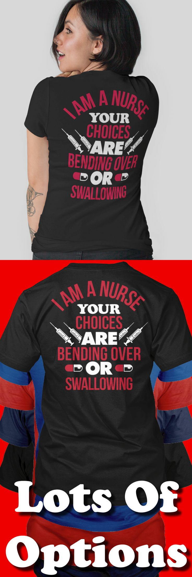 Nurse Shirt: Are You A Nurse? Love Being A Nurse? Wear Nurse Shirts? Great Nurses Gift! Lots Of Sizes & Colors. Like Nurses, Scrubs, Awesome Nurse, Funny Nurse Shirts and the Nursing Life? Strict Limit Of 5 Shirts! Treat Yourself & Click Now!  https://teespring.com/KG57-433