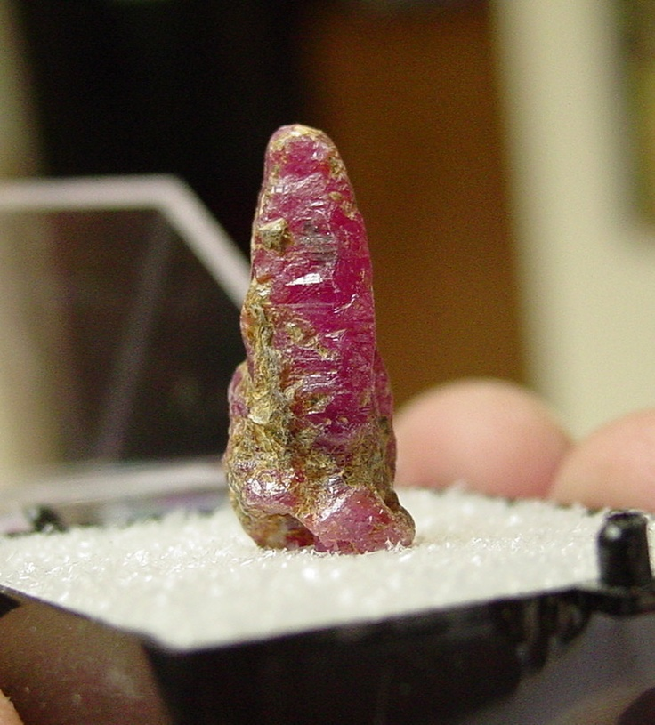 Natural Rough Crystal Vietnam Ruby, Yen Bai Province, Vietnam