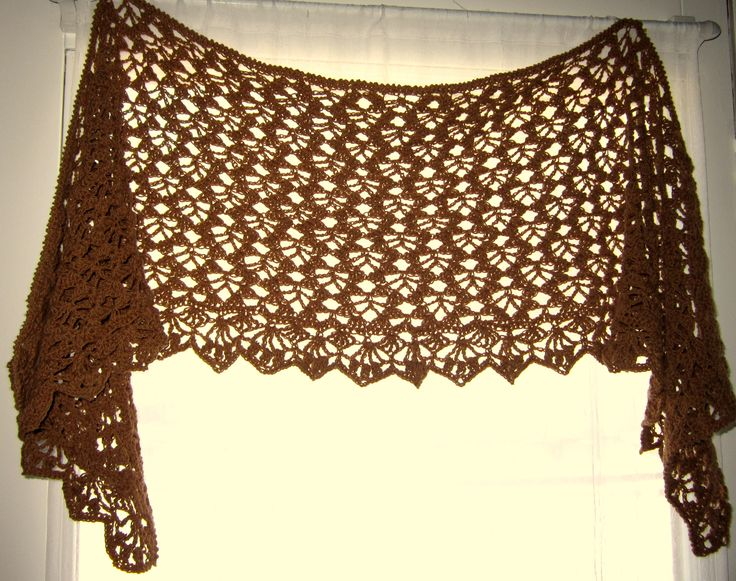 chocolate lace template - 46 best images about free crochet shawl patterns on