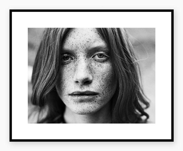HELJE POLAROIDS - Freckles  #freckles #portrait #poster #posterprint #heljepolaroids #printshop