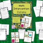 This volume intervention pack is to help with your in-class math intervention. $