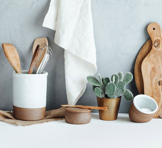 "Erin Boyle, the writer, photographer, and minimalist behind ""Reading My Tea Leaves,"" shares her essentials for a minimalist kitchen."