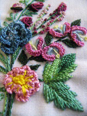 Brazilian Embroidery- cast on stitches