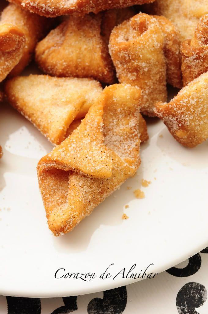 Borrachillos de Almeria  receta