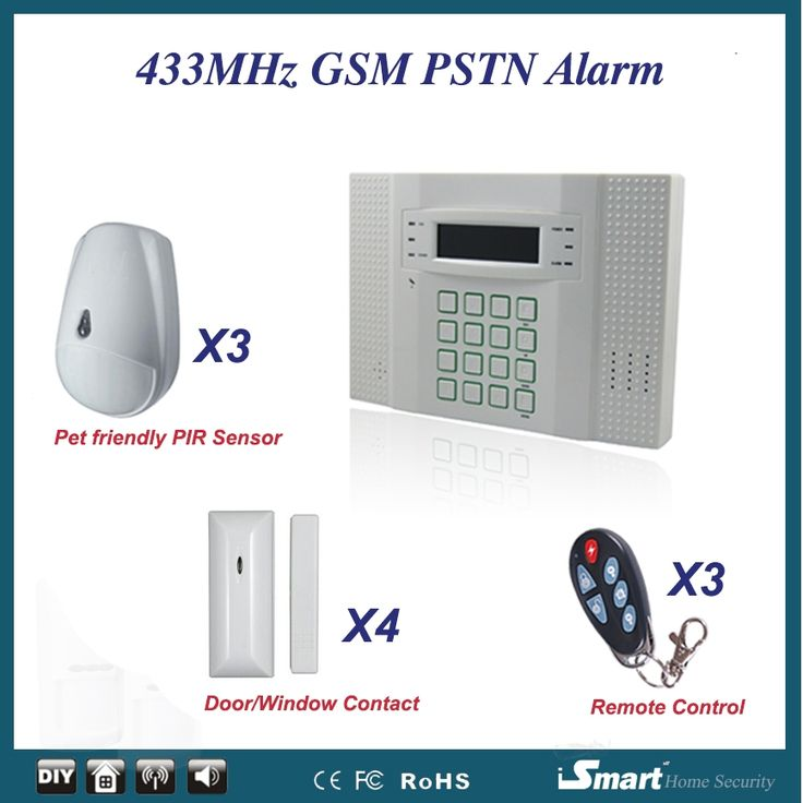 146.58$  Know more - http://aivz0.worlditems.win/all/product.php?id=32569734550 - High Quality 433MHz GSM Wireless Home Alarm System with Cat/Dog Friendly Motion Sensor+Door Window Sensor+Remote Controller