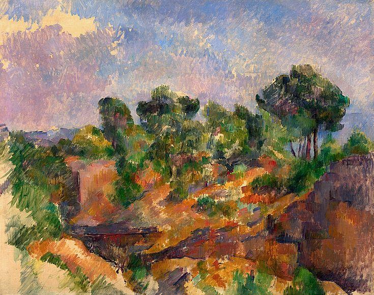 """bofransson:  """"Paul Cézanne  b. 1839, Aix-en-Provence, France; d. 1906, Aix-en-Provence Bibémus  """""""