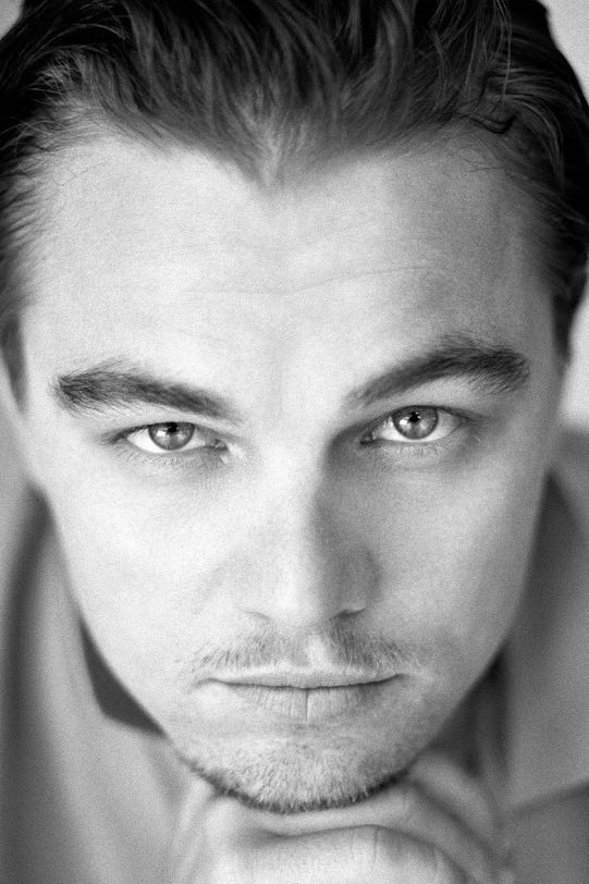 Leonardo DiCaprio, this is absolutely one of my favourites. I feel as if he is looking straight into my eyes and soul <3