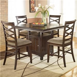 Hayley By Ashley Furniture Counter Height Dining SetsDining Room