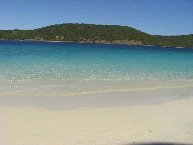 Another lovely beach in St. Thomas - US Virgin Islands