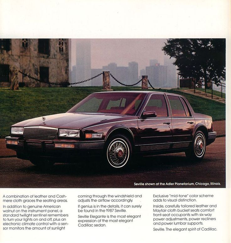 17 Best Images About Cadillac Seville On Pinterest