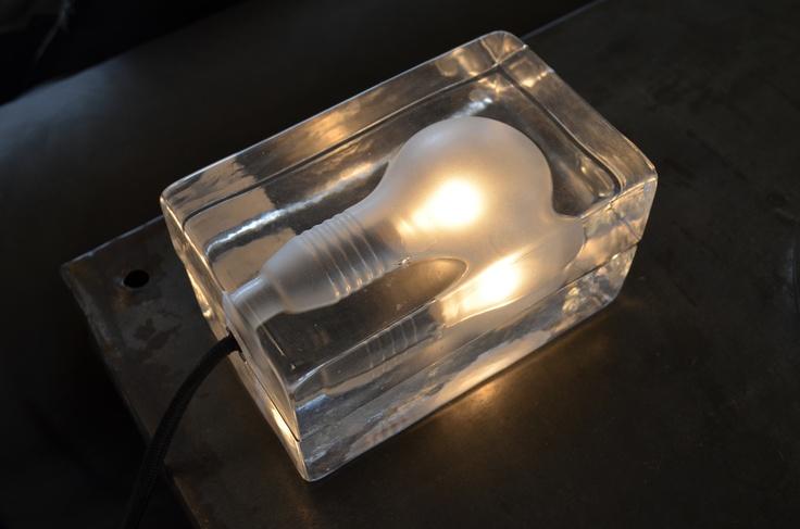 LAMPE BLOCK CABLE NOIR  merci store