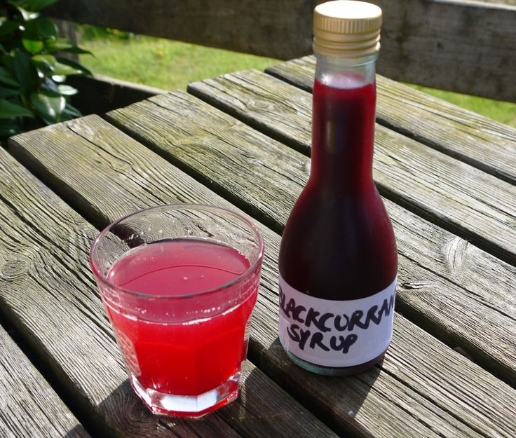 Blackcurrent syrup recipes (AKA make your own ribena)