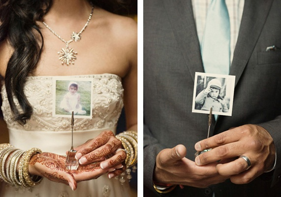 adorable wedding photo idea