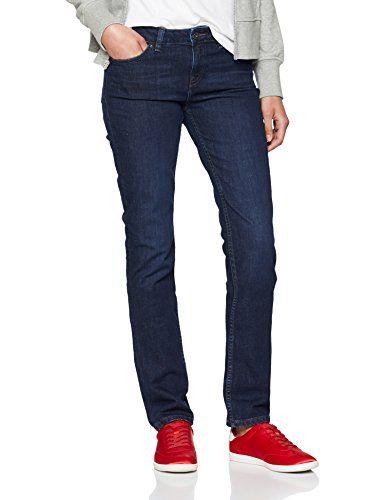 8b7adb6a9d Tommy Hilfiger Damen Skinny Jeans Rome RW Rolled UP Delia Blau 913 W26/L30