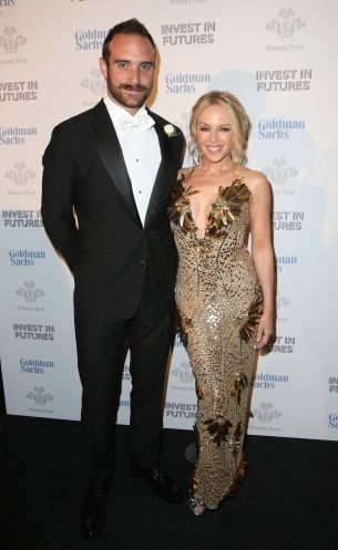 Kylie Minogue's engagement is basically confirmed: Joshua Sasse referred to Minogue as his fiancée.