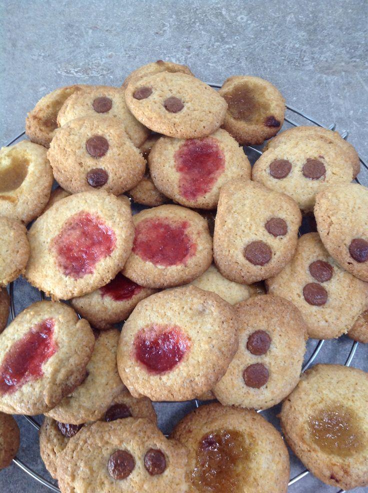 Confituur koekjes