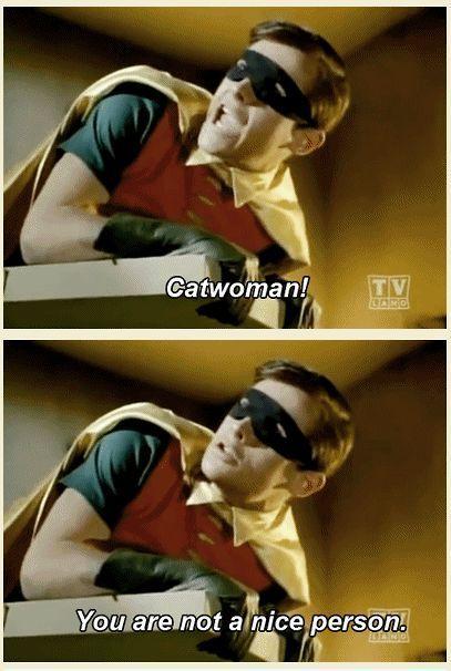 Robin Movie #Catwoman, #Person