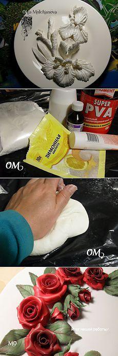 Приготовление и окрашивание холодного фарфора. Мастер-класс от Ledivseti .