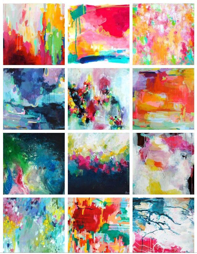 Abstract originals by Amira Rahim