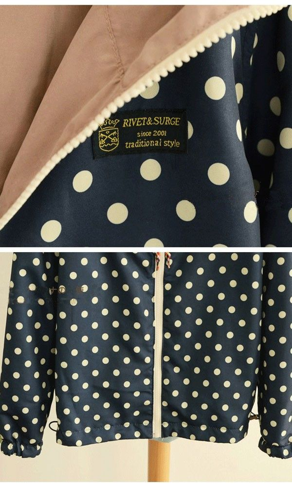 Pink Patchwork Long Sleeve Two-way Cotton Padded Coat - Outerwears - Tops