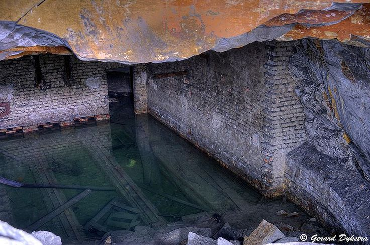 In these abandoned underground factory complexes of World War Two, workers once toiled in often terrible conditions to avoid falling bombs.