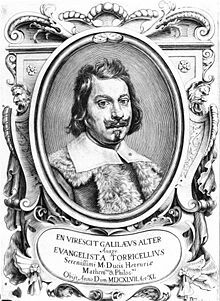 Evangelista Torricelli (15 October 1608 - 25 October 1647) was an Italian physicist and mathematician, best known for his invention of the barometer.