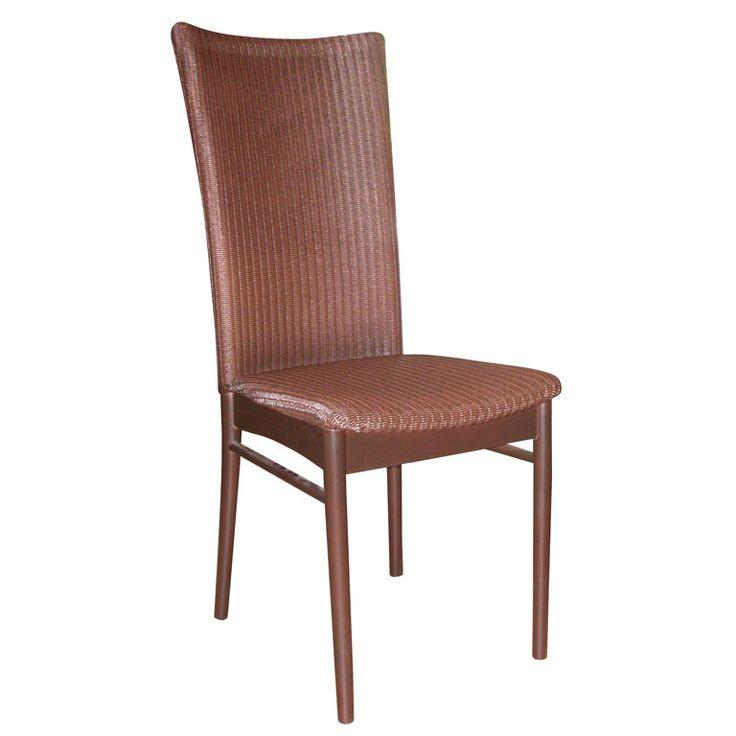 "Loom Italia Venice Dining Chairs in ""Noce Scuro"" Finish"
