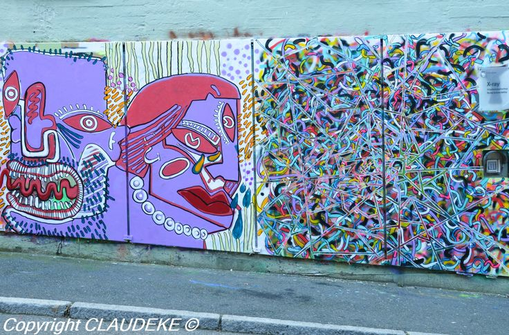 Oslo Akerselva street art http://www.claudeke.com