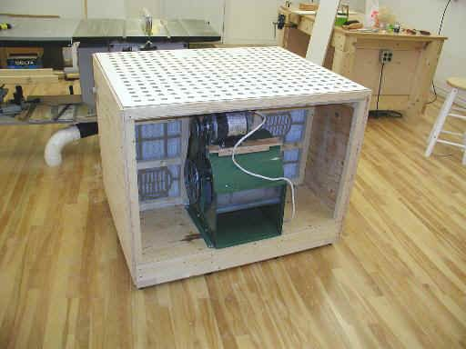 Table Woodworking Plans This Downdraft Table Can Be