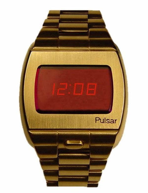 Pulsar Led Watch by Hamilton Watch Company  (1970)
