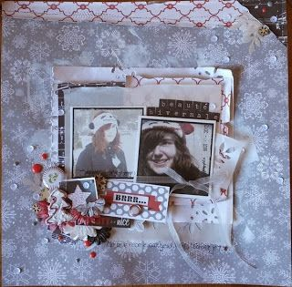 Asokascrapper - Kit Tis the season - Echo Park - Art du Scrapbooking
