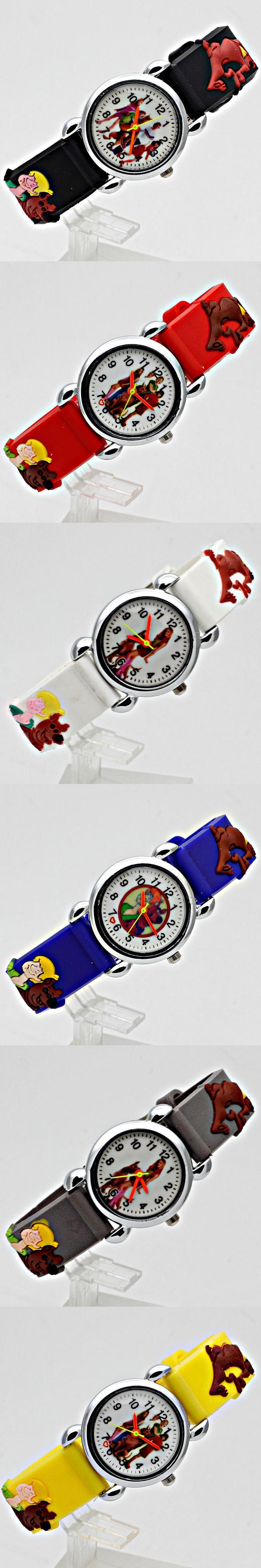 o1 2017 10pcs Hot sale Watch New Fashion Child Watch Silicon Cartoon Kids Sport Watch Boys quartz watch Relojes 3D Watch Relog