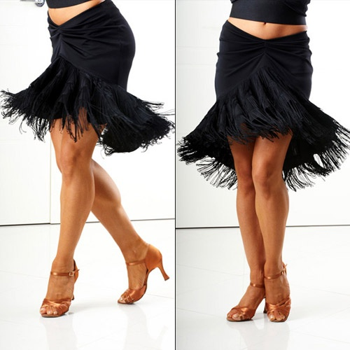 Beautiful detail for salsa bachata or latin dance skirt ir dress