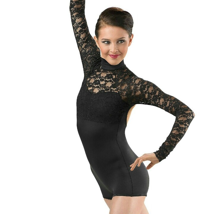 Long Sleeve Dance Costume, Lace Long, Dance Costumes Clothes, Sleeve ...