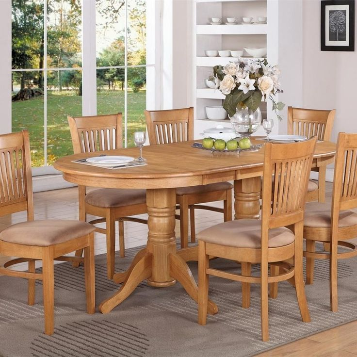 Solid Oak Kitchen Table Chairs