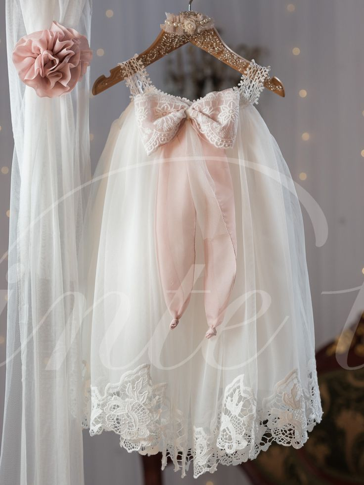 Cool Toddler Baby Girls Party Dresses 2016 Child Lace Christening Party Gowns Bapt