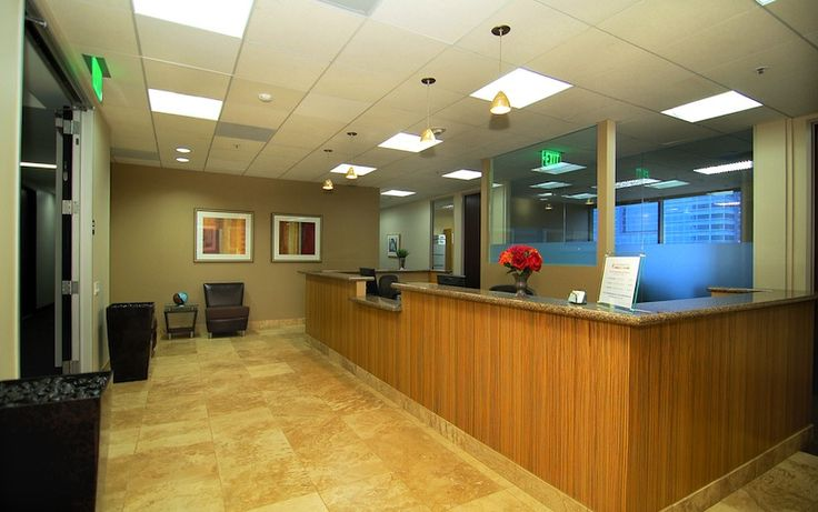 Financial Office Lobby Virtual Office Los Angeles And