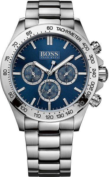 Hugo Boss Mens Stainless Steel Bracelet Watch in Silver for Men