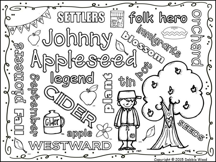 102 best johnny appleseed images on Pinterest  Johnny appleseed