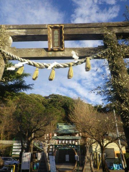 16.12.29 横須賀大津総鎮守「諏訪神社」参拝