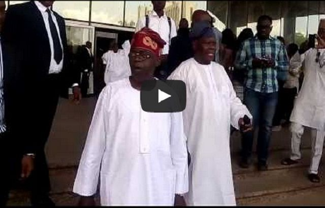 VIDEO: Tinubu's First Reaction To News Of Saraki's Emergency As Senate President | TNN.ng